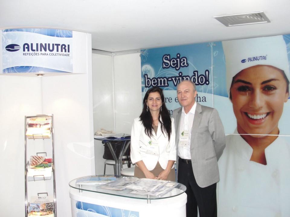 Stand da Alinutri no Seminário do Gerhai