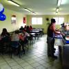 Inauguração do restaurante da empresa Starlog, em Guarulhos